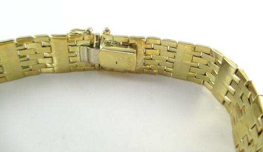 Aurafin 14KT SOLID YELLOW GOLD BRACELET AURAFIN MADE IN ITALY BARS AND LINKS NO SCRAP