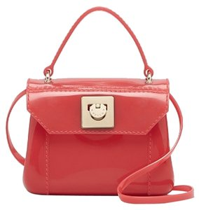 Furla Top Handle Magnolia Pink Candy Bon Bon Cross Body Bag