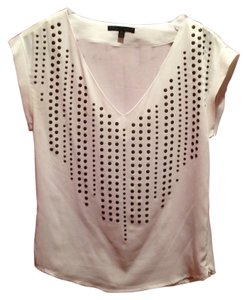 Lucca Couture Top White & Gold