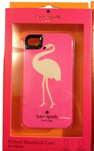 Kate Spade Kate Spade Hybrid Hardshell Pink Flamingo Case Cover iPhone 4/4S