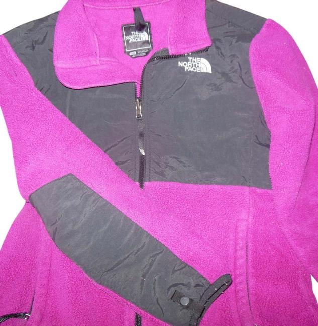 Preload https://img-static.tradesy.com/item/6260833/the-north-face-fusia-girls-large-denali-fleece-black-very-good-condition-activewear-size-os-one-size-0-0-650-650.jpg