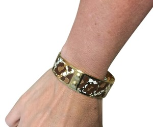 Coach Coach leopard bangle