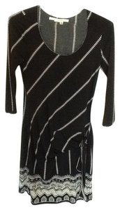 Max Studio short dress Black & White on Tradesy