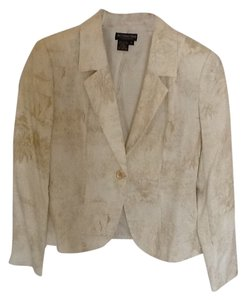 J.Peterman White/beige Blazer