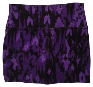 BDG Mini Skirt Purple & Black