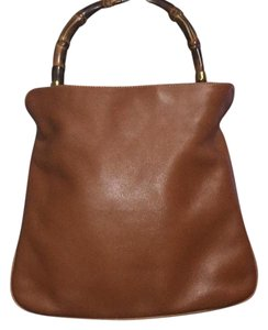 Gucci Satchel in Saddle Brown