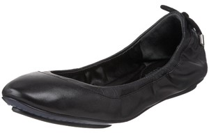 Cole Haan Leather Lace-up Ballet Black Flats