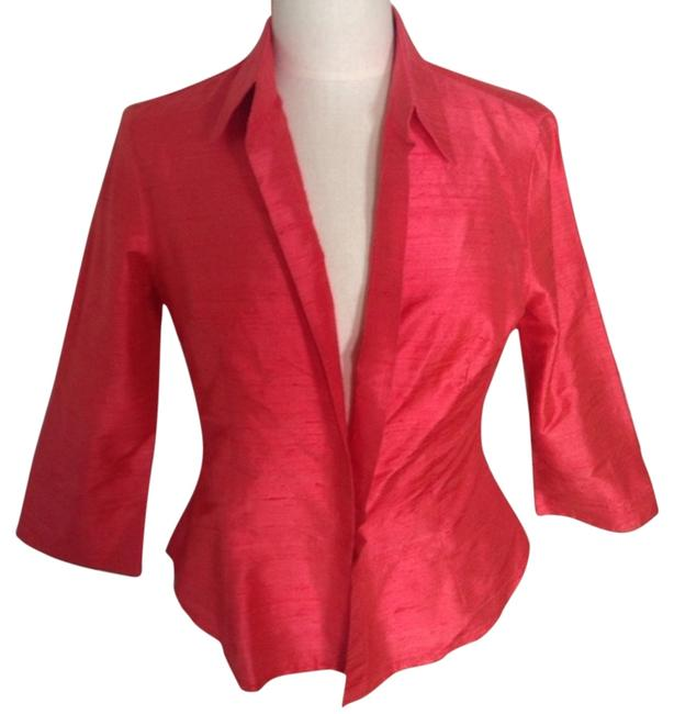 Preload https://img-static.tradesy.com/item/6262777/coral-silk-34-by-blouse-size-4-s-0-0-650-650.jpg
