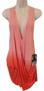 Young Fabulous & Broke Ombre Peach Pink Orange Tunic