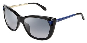 Dior Dior DiorChromatic1 6LWHD Black/Blue Opty Cat Eye Womens Sunglasses