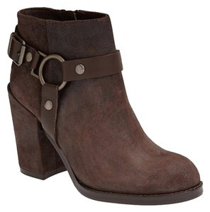 Ash Ankle Bootie Harness Studded Brown Boots