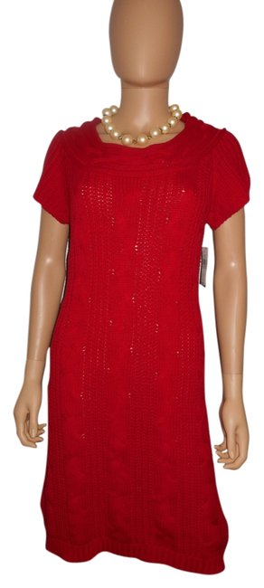 Preload https://img-static.tradesy.com/item/6263230/new-directions-red-sweater-long-workoffice-dress-size-10-m-0-0-650-650.jpg