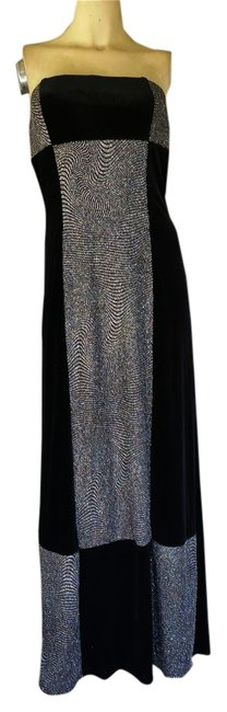 Preload https://img-static.tradesy.com/item/6264208/jessica-mcclintock-black-velvet-sparkly-evening-56-gown-new-long-formal-dress-size-4-s-0-0-650-650.jpg