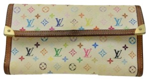 Louis Vuitton Louis Vuitton Multicolor Long Coin Card Wallet (#0102385102LP008)