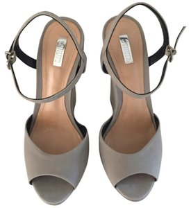 SCHUTZ Gray Wedges