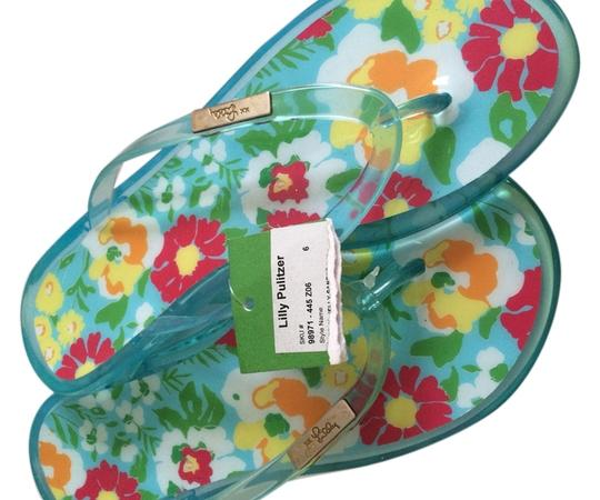 Preload https://img-static.tradesy.com/item/6264790/lilly-pulitzer-blue-green-red-yellow-orange-sandals-size-us-6-0-0-540-540.jpg