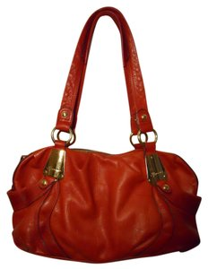 B. Makowsky Leather Tote Sachel Hobo Bag