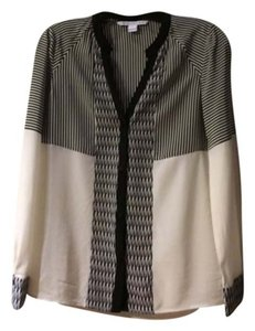 Diane von Furstenberg Dvf And Top Black & Ivory