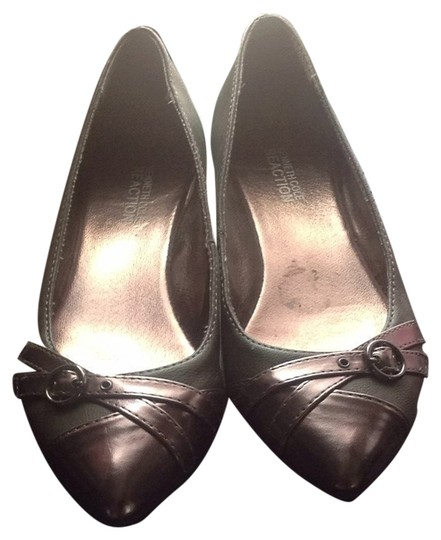 Kenneth Cole Reaction Gray Flats