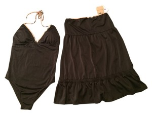 Burberry Burberry swimsuit and Coverup skirt NWT-Black