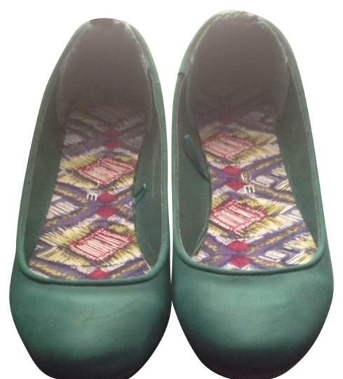 Rampage Green Flats