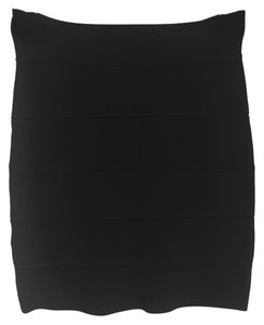 BCBGMAXAZRIA Bandage Mini Skirt Black