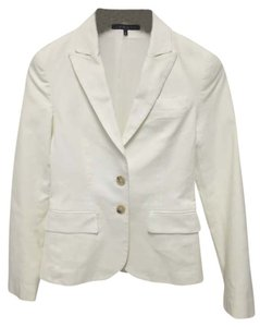 Theory Suiting Work White Blazer