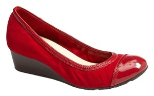 Cole Haan Shoe Red Wedges