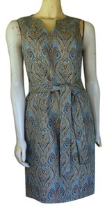 Talbots Brocade Shift Dress