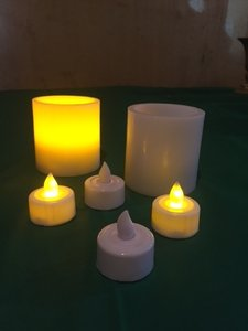 White Led Candles