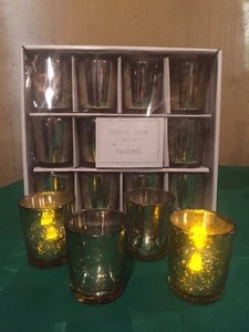 Gold Votive Candleholders
