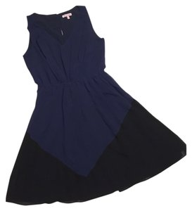 Juicy Couture short dress Blue and Black Sleeveless on Tradesy