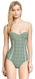 Tory Burch NEW!!! Tags Tory Burch Swimsuit Bathing Suit Green One Piece