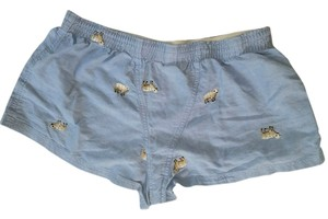 J.Crew Blue Sheep Sleep Pj's Pajama Shorts