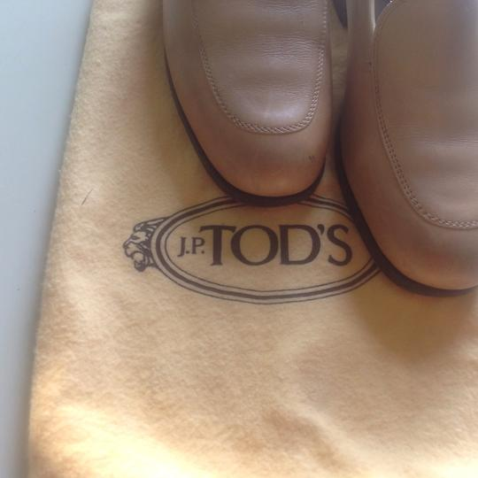 J.P. Todds Saddle tan Flats