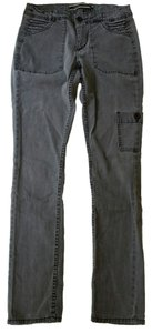 Anthropologie Cargo Skinny Pockets Straight Leg Jeans