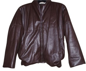 Calvin Klein Leather Motorcycle Jacket