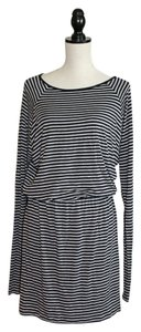 Michael Kors short dress Navy and Gray Stripe on Tradesy