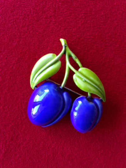 Other Vintage Plums Petite Brooch