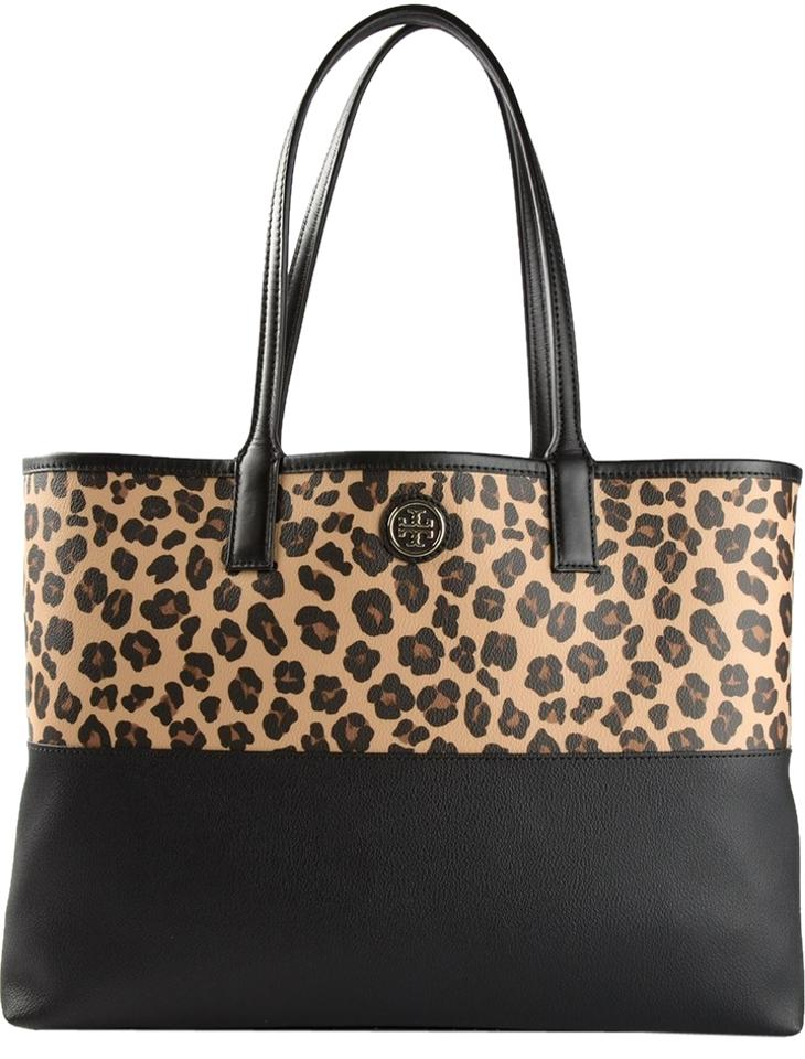 Tory Burch Leopard Tote Lookup Beforebuying