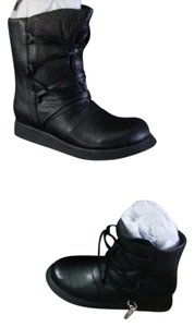 Camilla Skovgaard Eclectic Rocker Leather European Black Boots