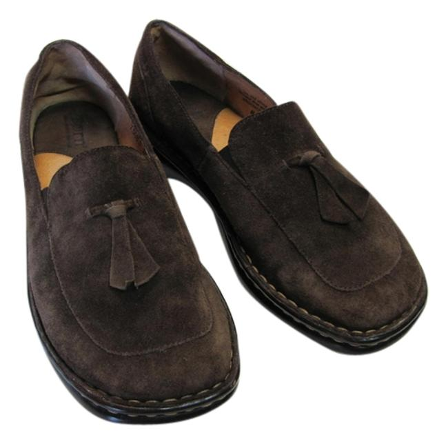Børn Brown Leather Good Condition M Flats Size US 7.5 Regular (M, B) Børn Brown Leather Good Condition M Flats Size US 7.5 Regular (M, B) Image 1