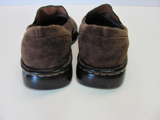 Brn Leather Good Condition Size 7.50 M Brown Flats