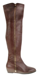 Chinese Laundry Flake Out Over The Knee Brown Boots