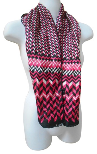 Preload https://img-static.tradesy.com/item/6274885/echo-black-pink-white-hand-rolled-silk-vintage-scarfwrap-0-0-540-540.jpg