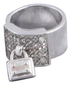 Other Silver Crystal lock charm