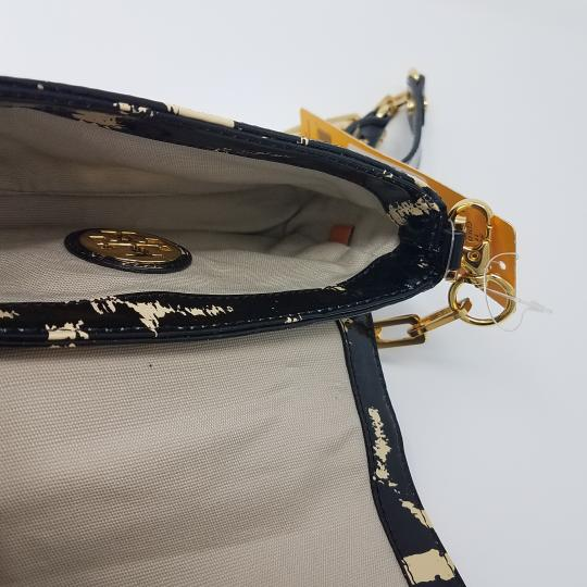 Tory Burch Patent Leather Gold Hardware Shoulder Bag