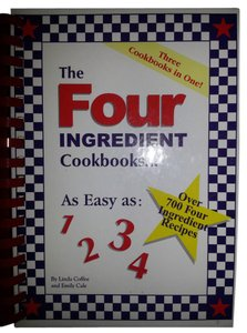 Linda Coffee The Four Ingredient Cookbooks-Three Cookbooks in One!