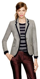 J.Crew Wool Grey Navy Suiting Gray Blazer