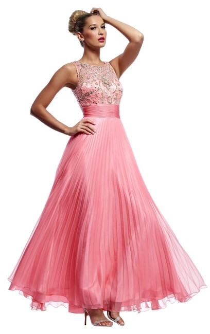 Preload https://img-static.tradesy.com/item/6275389/riva-designs-watermelon-9737-long-formal-dress-size-14-l-0-0-650-650.jpg